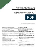 Pro C1060L Parts Manual