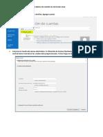 Configurar Correo Indra en Outlook 2016