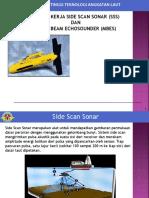 Prinsip Kerja Side Scan Sonar (Sss)