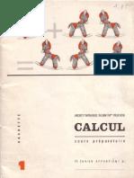 Cahier de Calcul CP
