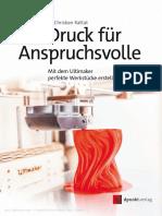 3D DruckAnsprüchsvolle Copia