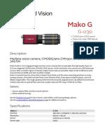 Mako G DataSheet G-030 V2.1.0 En