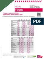 Trains Nevers-Tours 22 mars