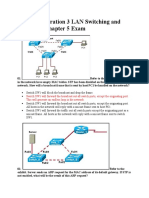 CCNA Exploration 3 LAN Switching and Wireless – Chapter 5 Exam
