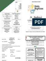 St Andrews Bulletin 031818