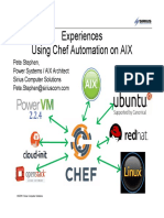 Using Chef Automation With AIX V3