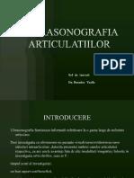 ULTRASONOGRAFIA ARTICULATIILOR