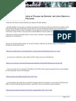 Algunos Elementos Sobre El Proceso de Bolonia