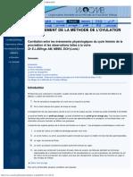 01 ENSEIGNEMENT DE LA MÉTHODE DE L'OVULATION BILLINGS
