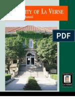 University of La Verne Style Manual