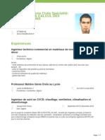 Fawzi Alioua Ingenieur en Genie Civile Specialite Conception Calcul Des Constructions Emploitic