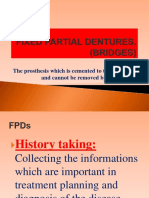 Fixed Partial Dentures ppt for Students
