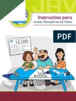 Instructivo Jrv 2018
