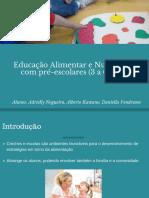 Educação Alimentar e Nutricional Com Pré Escolares (3 a 6 Anos)