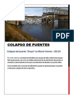 Colapso de Puentes