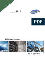 Integra Catalogo 2012