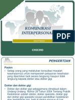 Komunikasi Interpersonal 2015 Blok 1