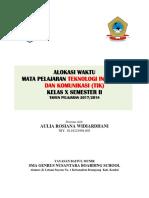02. ALOKASI WAKTU