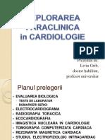 1. Explorarea Paraclinica in Cardiologie 1