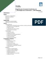 Temario y Bibliografía MCyTI