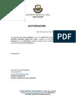 autorizacion certificado bancario