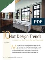 West Suburban Living Features Drury Design - 10 Hot Design Trends