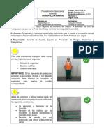 SSO P POE 18 (Transpaleta Manual)