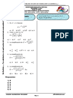 Primer Examen Anual de Álgebra