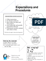 choir expectations and procedures