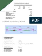 Analisis y Diseño de Cargas
