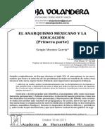 El Anarquismo Mexicano y La Educación