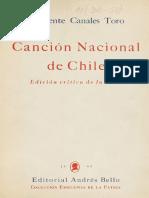 Himno Nacional de Chile (Edición Crítica de La Letra)