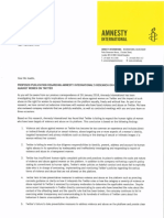 Amnesty Letter to Twitter 12 March 2018
