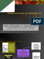 Desenvolvimento de Ontologia 101