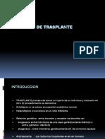 Cirugia de Trasplante