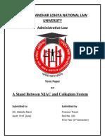 Boc Term Paper Cover Page