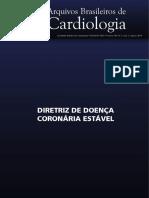 Diretriz de Doença Coronária Estável