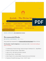 Divine Jyotish Com 2014-12-31 Recommended Books