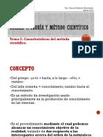 Características del Método Científico