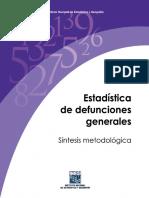 Estad+¡stica de Defunciones Generales. S+¡ntesis Metodolg+¦ica - INEGI