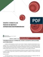 Diseño en Equipos e Instalaciones Electromecánicas