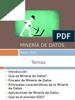 Minería de Datos Maestria 2018