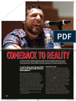 Daniel Bryan by @Alan4L - Fighting Spirit Magazine, May 2017