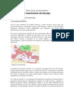 A Europa Do Sec Vi Ao Seculo Xii - Cópia