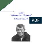 Caderninho - Fluente Luz Universal - Padrinho Zé Ricardo