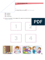 Guía de Lenguaje 4 Año