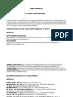 Marco Normativo Presupuesto de Ingresos y Egresos