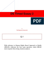 DS Timed Essay 2 AnswerSheet