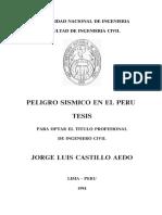 PELIGRO SISMICO EN EL PERU