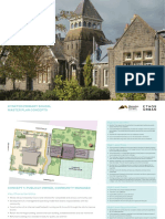 Former Kyneton Primary School Draft Master Plan Concepts